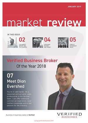 Market Review by Verified businesses